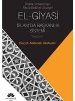 İmamu'l-Haremeyn Ebu'l-Meali El-Cüveyni El-Giyasi İslamda Başkanlık Sistemi