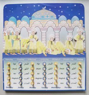 Gebetskalender Boy (Spiel aus Holz)