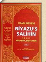 Riyaz'üs-Salihin Tercüme ve Şerhi / (Ciltsiz İthal Kağıt) (2 Cilt)